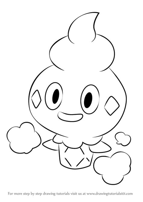 how to draw learn how to draw vanillite from step by
