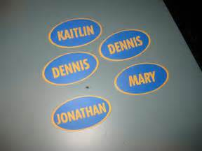 Family Feud Name Tag Template by No You Can T Keep The Nametags I They Say They