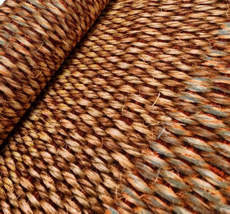 wide upholstery fabric sisal brown digital curtain upholstery fabric material