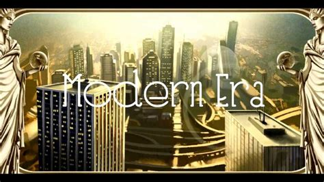 the era civilization v transcension to the modern era