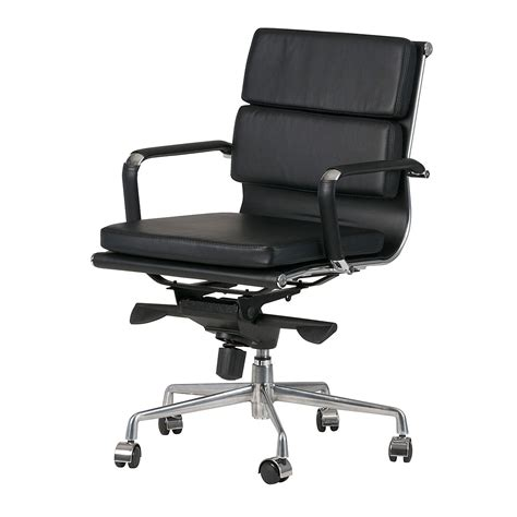 eames replica chair padded eames replica boardroom visitor chair medium