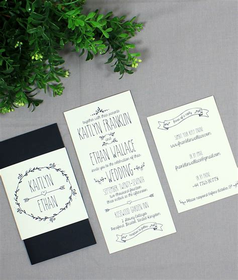 doodle wedding stationery doodle wedding invitation print