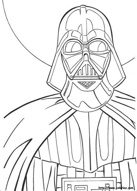 star wars father s day coloring page coloriage dark vador