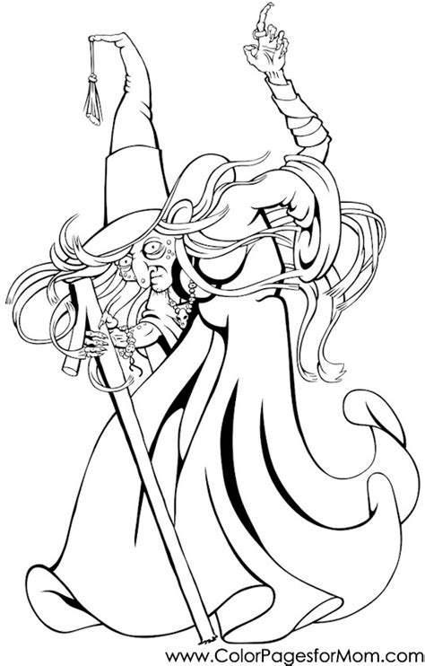 halloween coloring pages advanced advanced coloring pages halloween witch coloring page