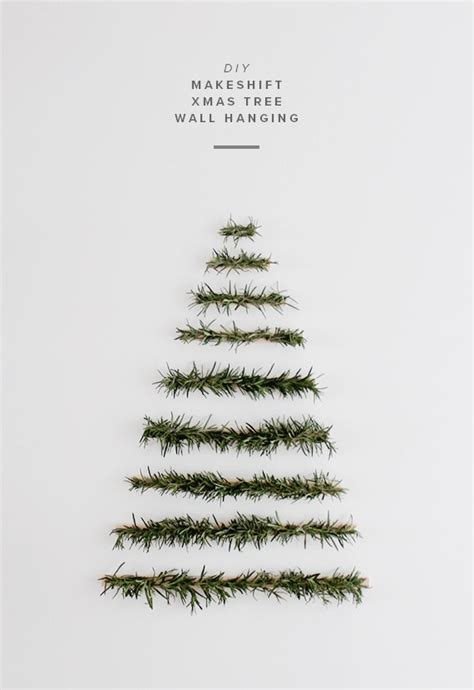 diy minimalist christmas tree gift ideas creative