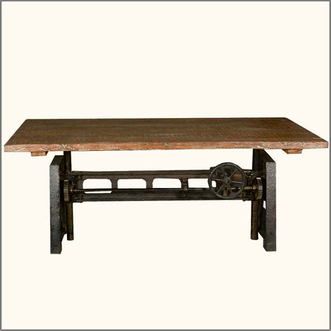 unique dining table bases unique industrial iron base reclaimed teak wood trestle