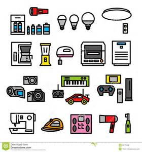 Kitchen Light Bulb - electric appliances 02 royalty free stock photos image 35775338