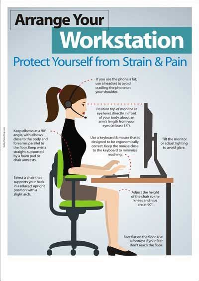 Office Ergonomics by 25 Best Ideas About Office Safety On Safety