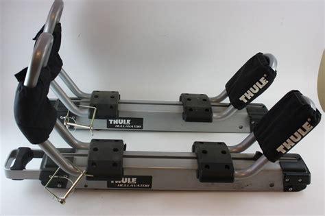 Kayak Rack Systems by Thule Hullavator Kayak Carrier Rack System Ebay