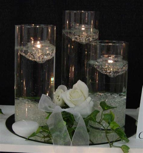 floating candlesjpg s and s wedding
