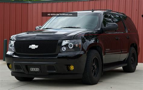 2009 chevy tahoe ss conversion