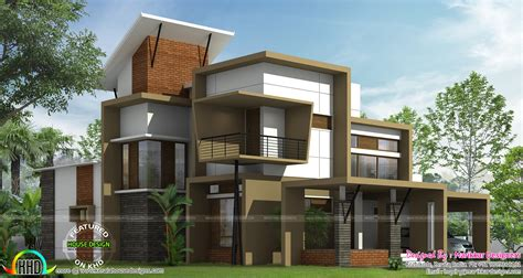 Ultra Modern Contemporary House Plans Modern Ultra Contemporary House Kerala Home Design And Floor Plans