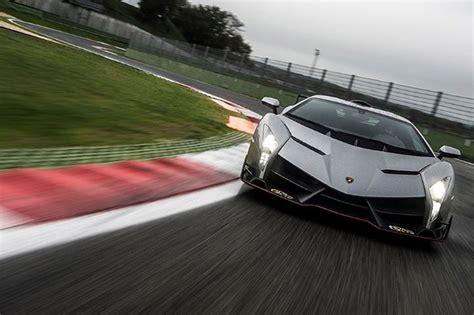 Lamborghini Sesto Veneno Lamborghini Veneno Takes To The Track