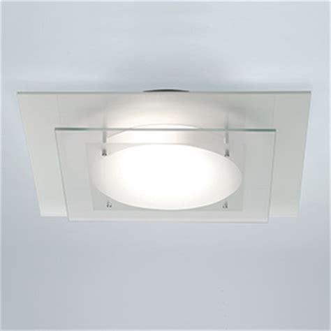 Modern Bathroom Ceiling Light Astro Lighting Planar Modern Square Bathroom Ceiling Light