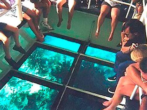key largo glass bottom boat cruise key largo princess on keystv