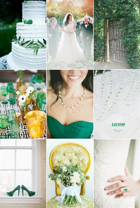 three wedding color palettes perfect for summer onewed