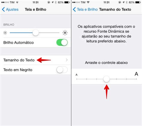 como mudar layout do iphone como mudar e aumentar o tamanho da fonte do whatsapp no
