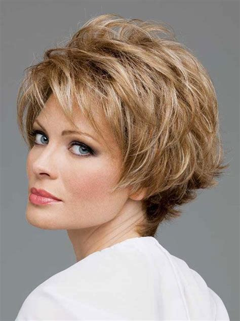 hair styles for flat fine hair for 50 year old woman best short hairstyles for women over 50 with thin hair