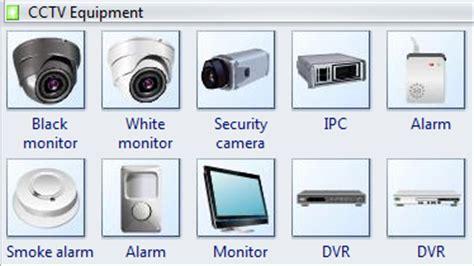 dvr visio stencil security symbols standard cctv symbols for