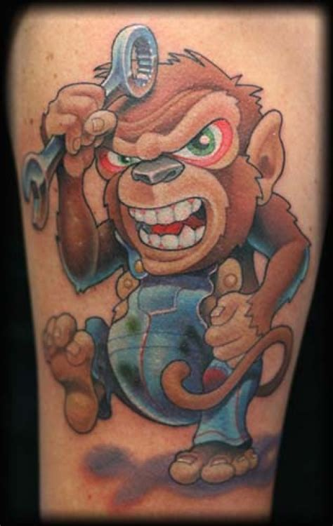 monkey tattoos and you