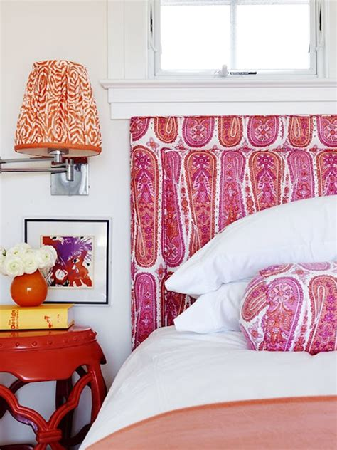 Paisley Headboard by Room Decor Using Paisley Patterns Kidspace Interiors
