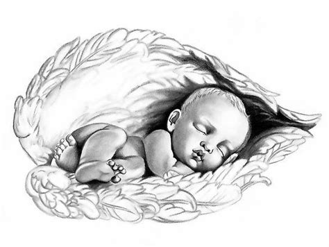 angel babies clip art sleeping baby angel clipart 31
