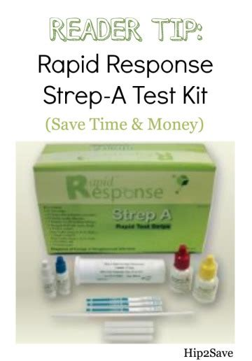 reader tip rapid response strep a test kit 34 99 shipped