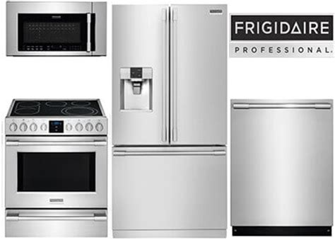 frigidaire professional kitchen appliance package mid range to affordable luxury appliance packages ratings