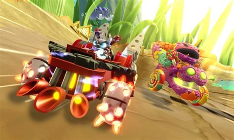 Kaos Lego Graphic 8 skylanders superchargers racing for the wii brings racing