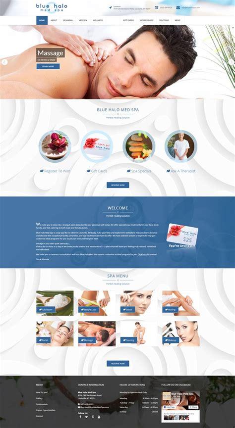 spa website inspiration 208 best web design inspiration images on pinterest web