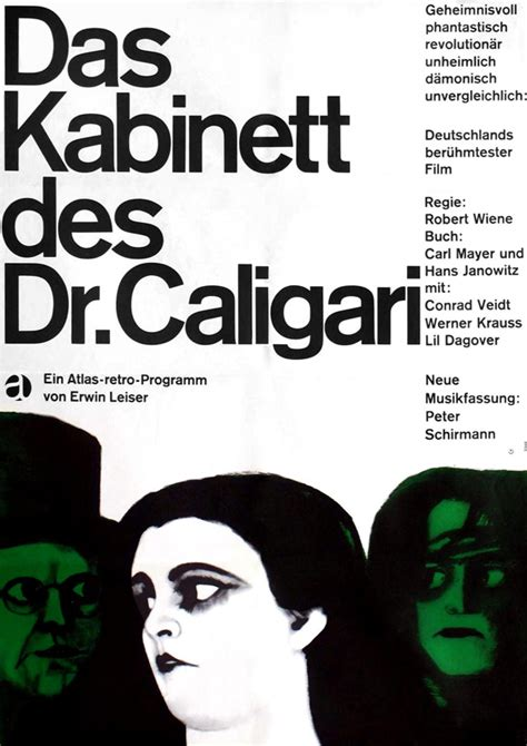 the cabinet of dr caligari movie posters from movie