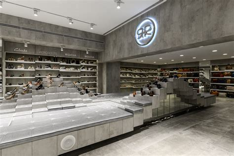 regal shop regal shoes showroom design the architects diary