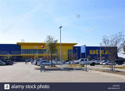 ikea parking lot ikea store and parking lot frisco texas usa stock photo