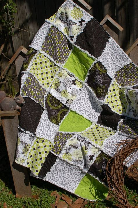 39 best images about Rag quilts on Pinterest   Baby quilts