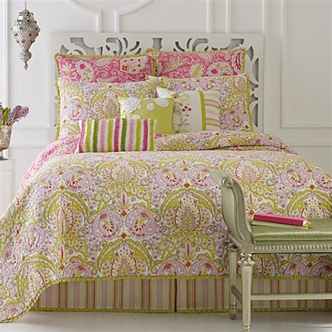 dena bedding dena home moroccan garden quilt bed bath beyond