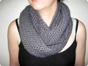 Crocheted Infinity Scarf Stitch By Fay Loop Crochet Infinity Scarf Cowl Pattern