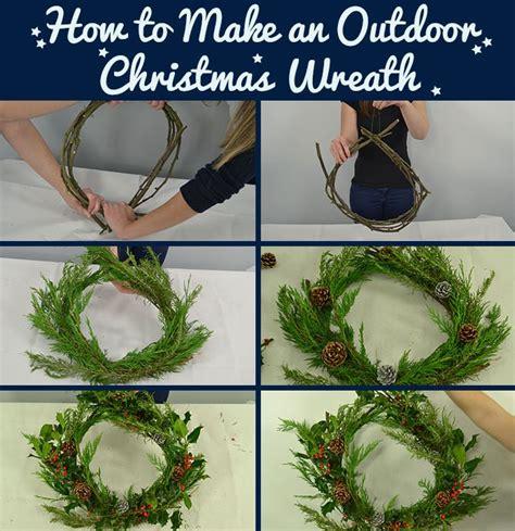 outdoor christmas wreath fmag smile