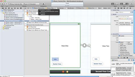 tutorial xcode storyboard 转 simple ios 5 ui design tutorial using storyboard in
