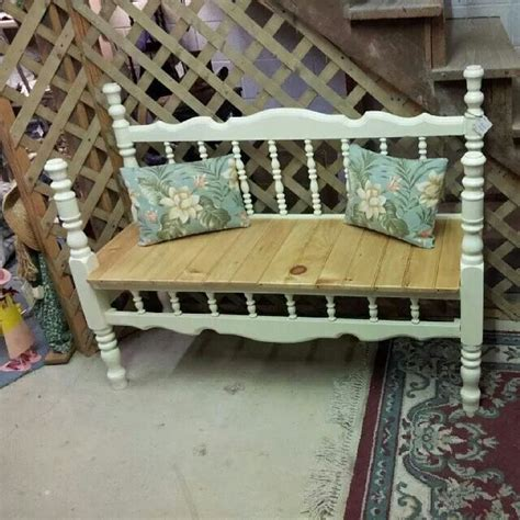 bench made from bed benches made from bed frames garden bench from bed frame