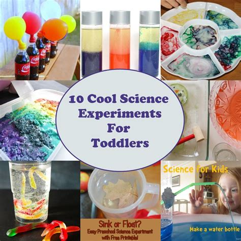 for toddlers 10 cool science experiments for toddlers