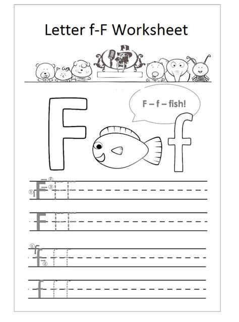 Letter F Worksheets For Preschool by Letter F Worksheet Preschool F Is Fish Preschool Crafts