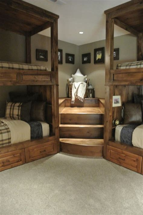 bedrooms with bunk beds best 25 corner bunk beds ideas on cool bunk