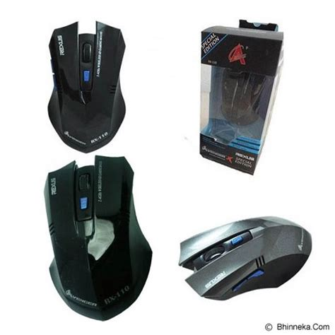 Mouse Wireless Rexus Avenger jual rexus wireless avenger rx 110 merchant murah