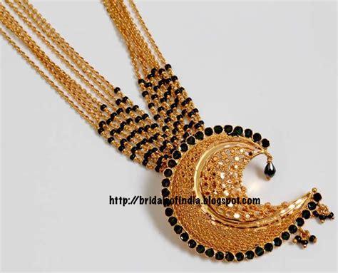 Kerala Home Design October fashion world gold mungalsutra designs karimani mala