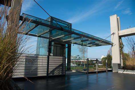 tettoia in vetro tettoie in ferro e coperture socomet