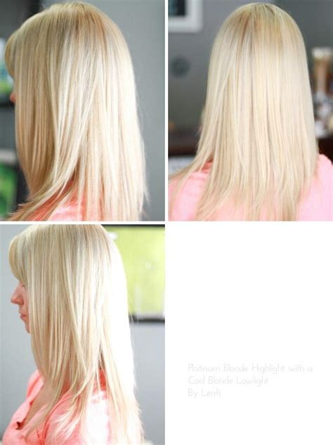 platimum hair with blond lolights platinum blonde highlight with a cool blonde lowlight my