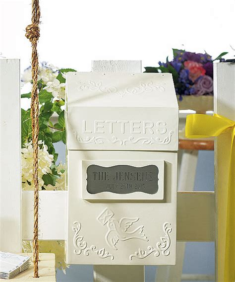 Wedding Card Letter Box by Things We Unique Wedding Card Boxes