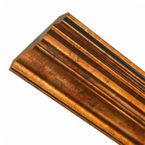 home depot ceiling molding fasade classic 0 75 in x 6 125 in x 96 in wood ceiling