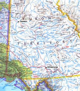 where is whitehorse canada on a map northwest explorer yukon river 2007