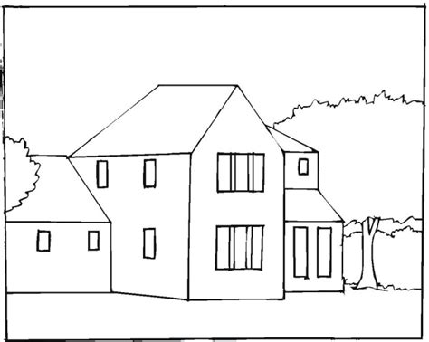 free coloring pages of apartment buildings
